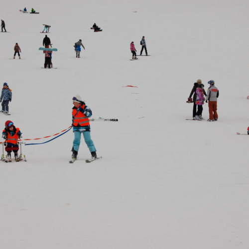 Занятия с особенными детьми на горных лыжах