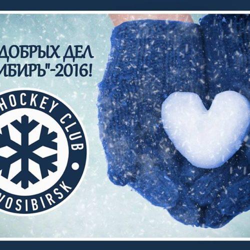 День добрых дел вместе с ХК «Сибирь»
