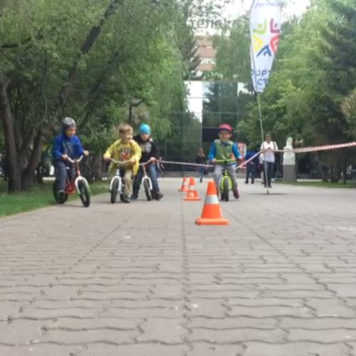День защиты детей со Спорту Место