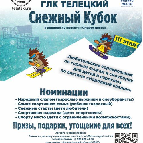 Снежный Кубок 3-й этап